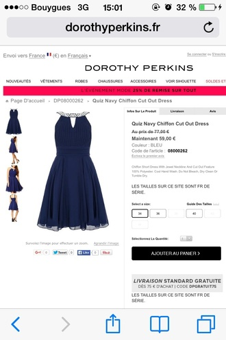 dress prom dress navy