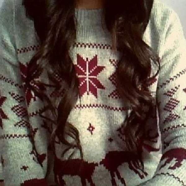 sweater pull black red beautiful cute wonderful bells winter sweater white
