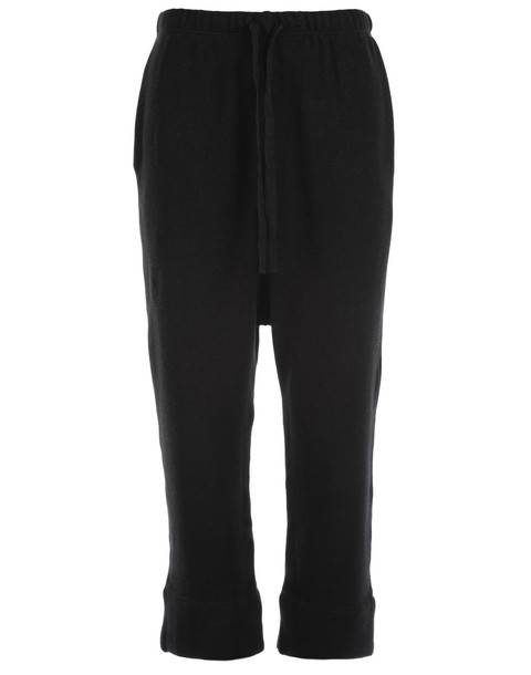cotton black pants