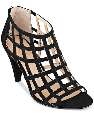 Marc Fisher Philo Caged Sandals - Shoes - Macy's