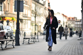 shiny sil,blogger,bag,jeans,top,coat,jacket,jewels,sunglasses