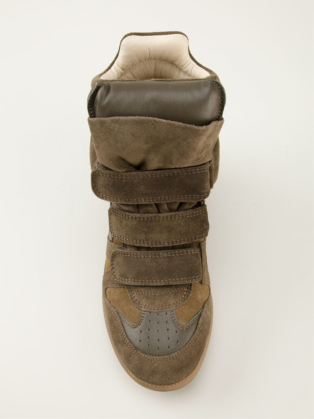 Isabel marant 'bekett' wedge sneakers