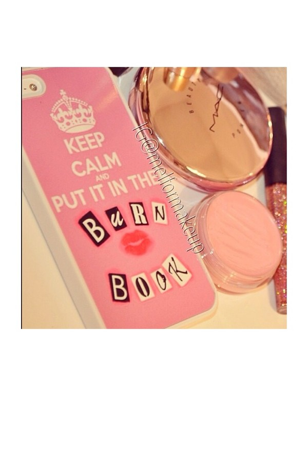 jewels iphone cover mean girls burn book