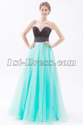 dress quinceanera dress party dress black prom dress blue prom dress