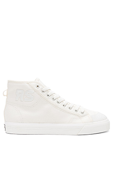 adidas by Raf Simons Spirit High Top Sneaker in Off White from