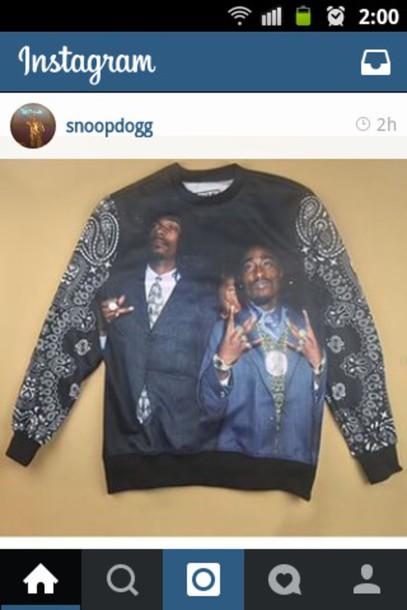 tupac tupac sweatshirt black 90s style t-shirt