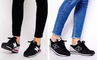 new balance 420 suade shoes shoes black white purple grey nike new balance sneakers