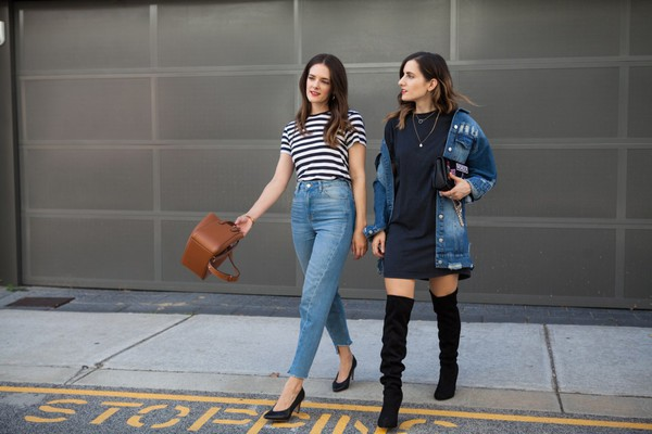7fabfe4c286 inspiring wit blogger jacket t-shirt dress shoes bag jeans spring outfits  high heel pumps