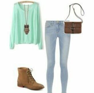blouse jeans jewels pants shirt shoes sweater top