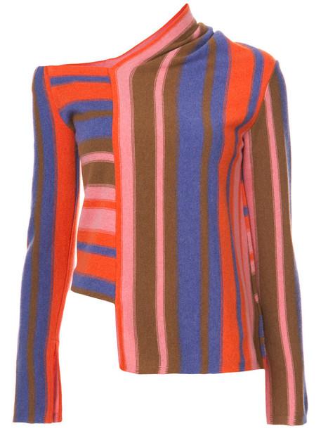 sweater striped sweater women wool