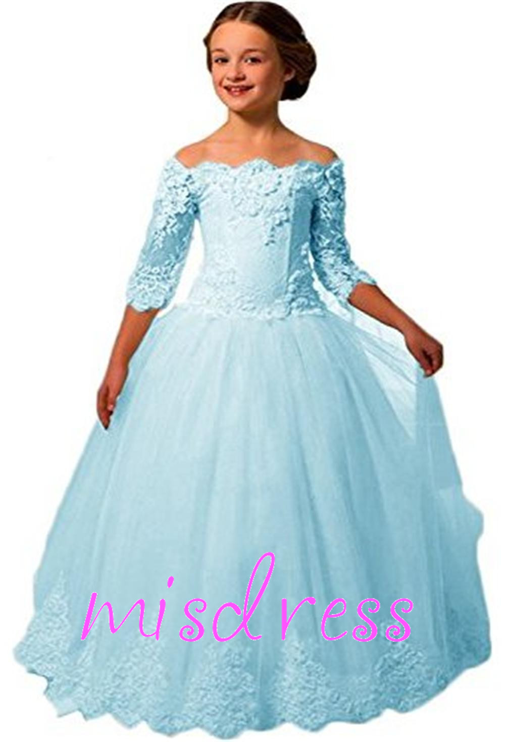 Long Princess Dresses for Juniors