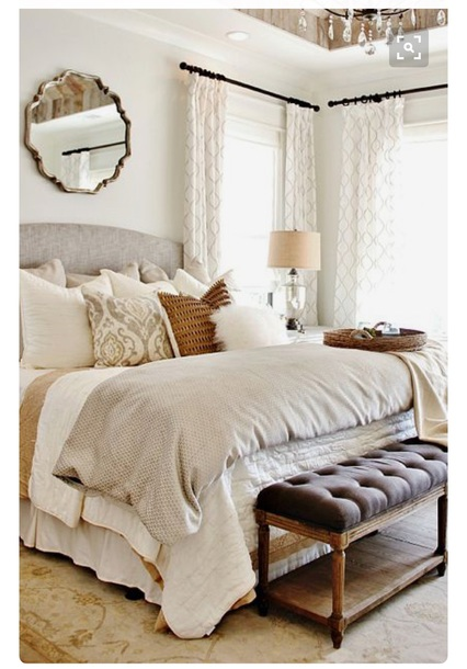 home accessory nude neutral gold brown tan cream bedding calm white