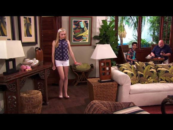 navy blouse disney channel Emma Ross floral
