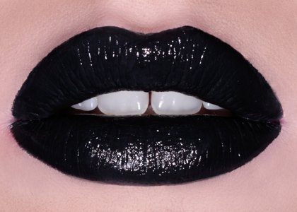 STYLETTO opaque black lipstick - Lime Crime
