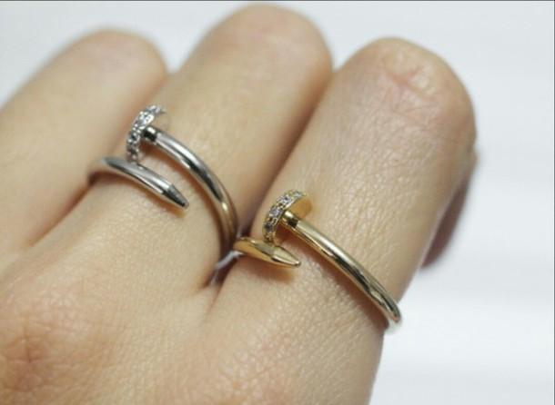 jewels silver ring minimalist jewelry