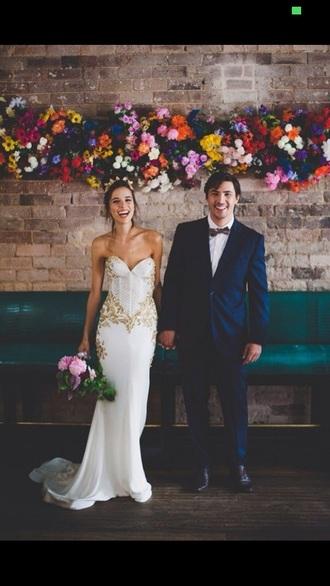 dress classy prom dress wedding dress white dress hipster wedding mens suit love