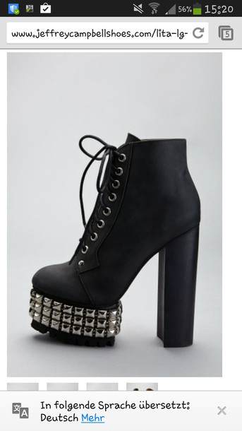 shoes black jeffrey campbell lita