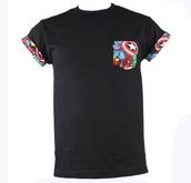 t-shirt,black,comics,marvel,iron man