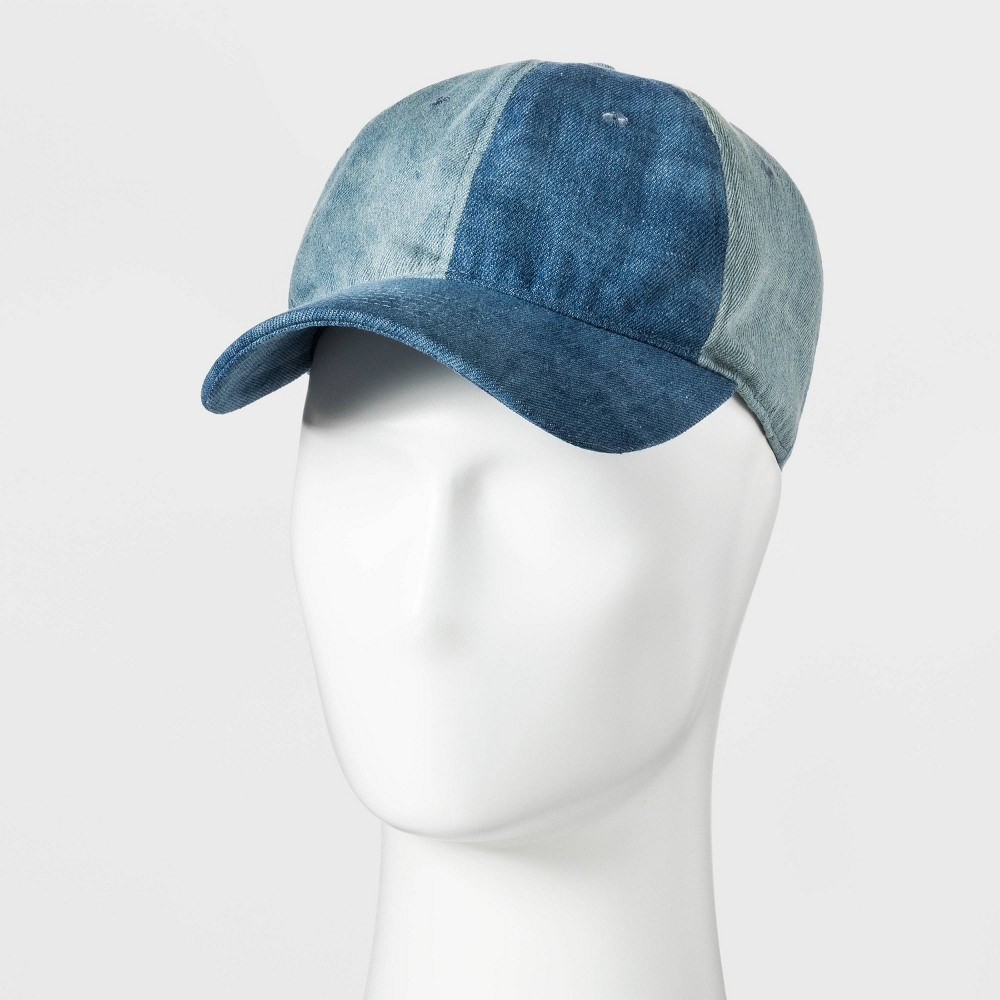 Men's baseball denim hat - original use™ blue one size