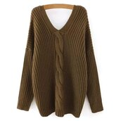 sweater,brown,warm,fashion,long sleeves,style,trendy,fall outfits,winter outfits,trendsgal.com
