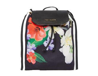 bag ted baker backpack flowers flower backpack