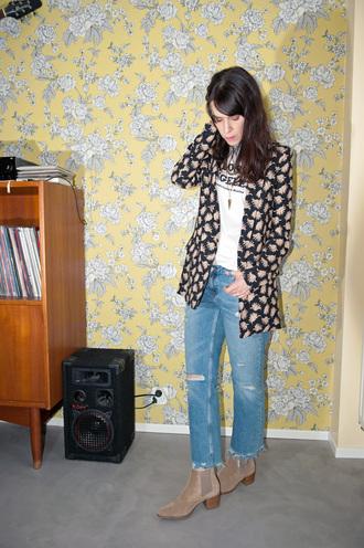 punky b blogger jacket t-shirt shoes