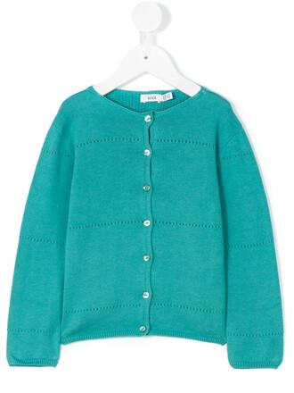 cardigan cotton green sweater