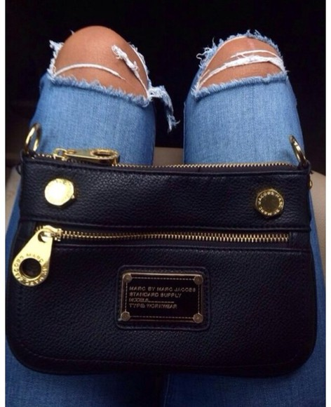 marc by marc jacobs bag rip jeans