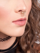 jewels,septums,faux septums,jewelry,nose ring