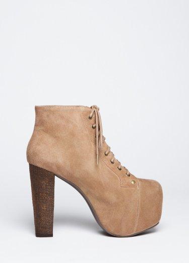 Wasteland Shoes - ShopWasteland.com - Jeffrey Campbell Lita Platform - Taupe