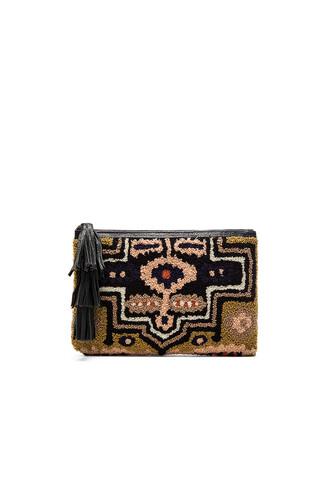 london clutch black bag