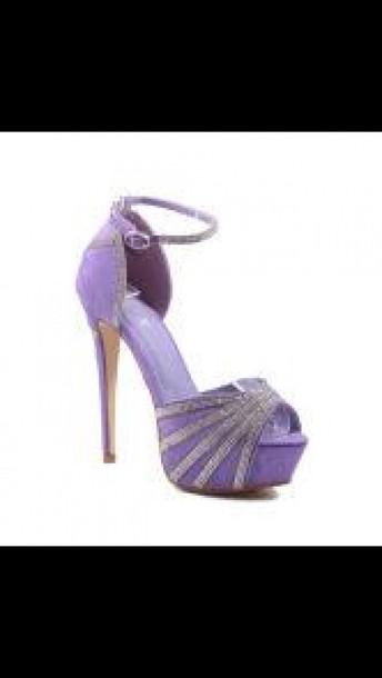 shoes purple shoes
