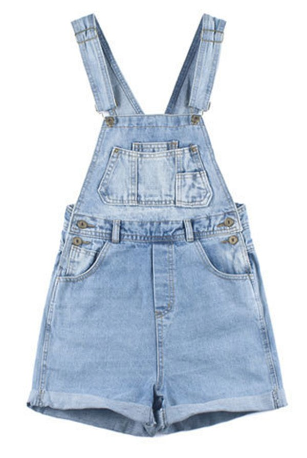 Vintage Denim Playsuits - Jumpsuits & Playsuits - Clothing