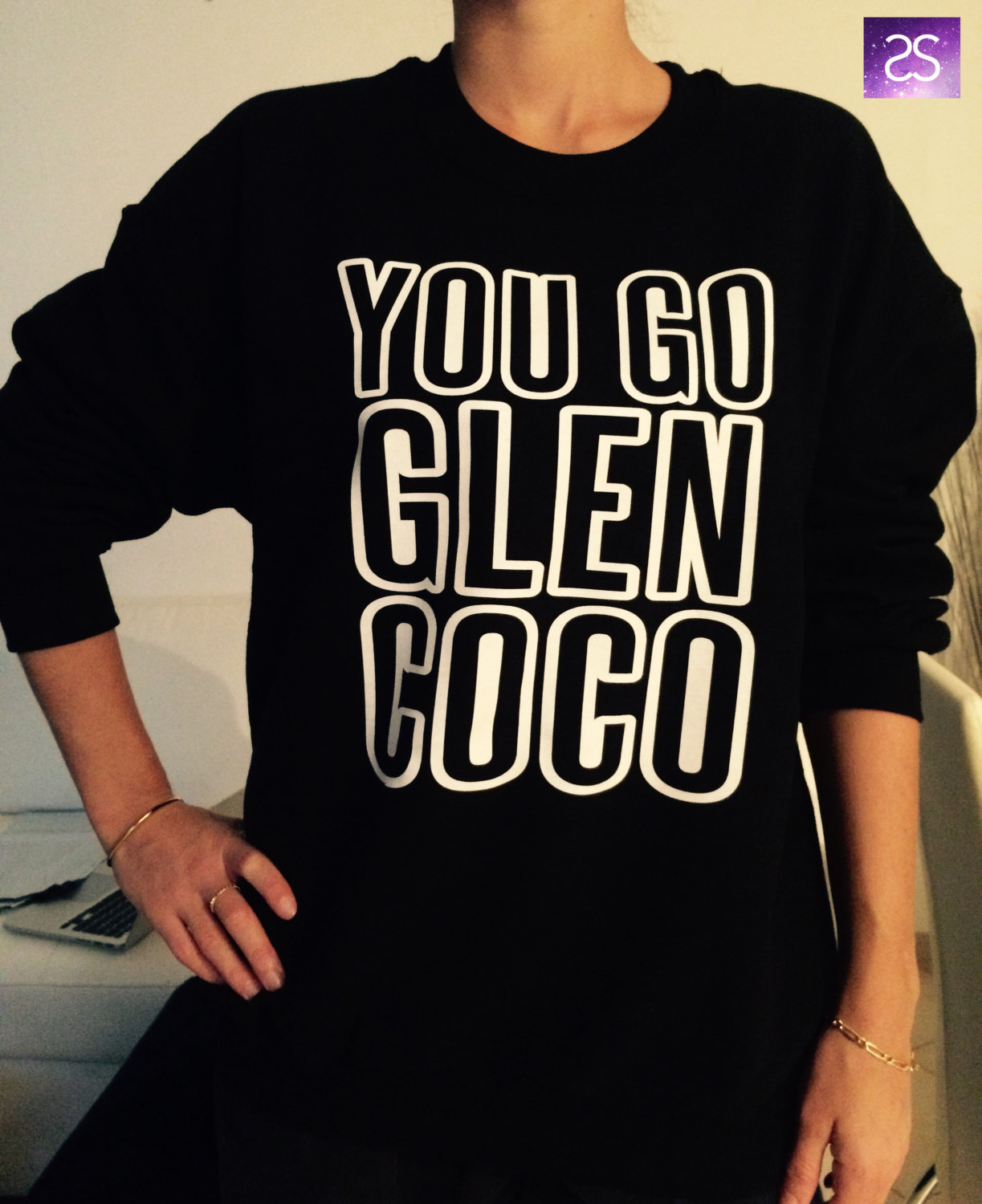 You go Glen Coco sweatshirt jumper cool fashion sweatshirts girls UNISEX sizing sweater teens girl fashion gifts girlfriends teenagers swag