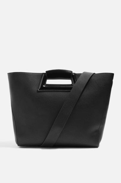 Topshop bag tote bag black