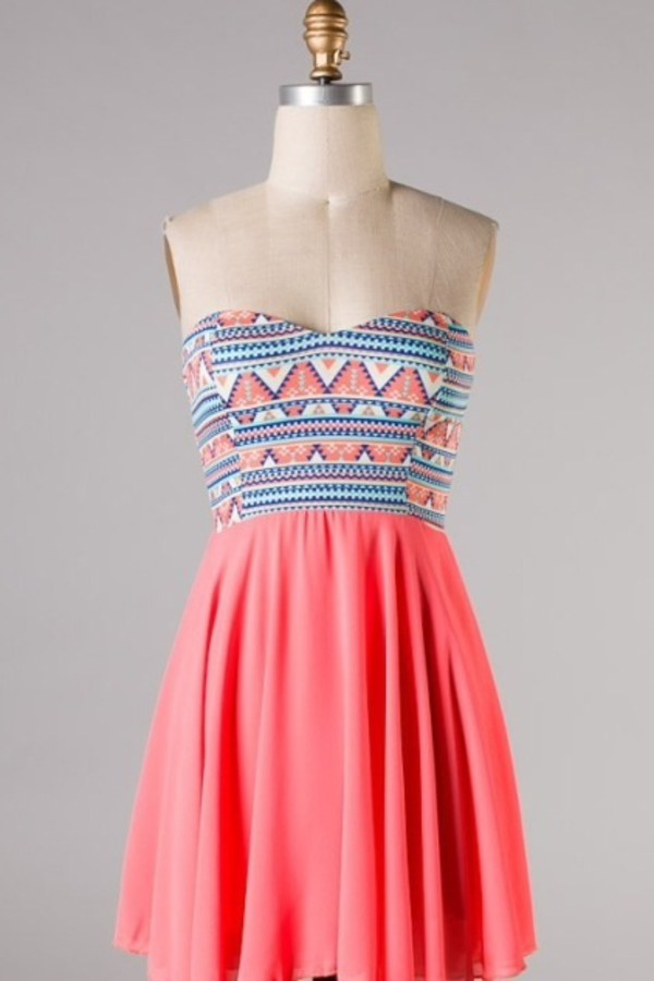 dress aztec summer dress