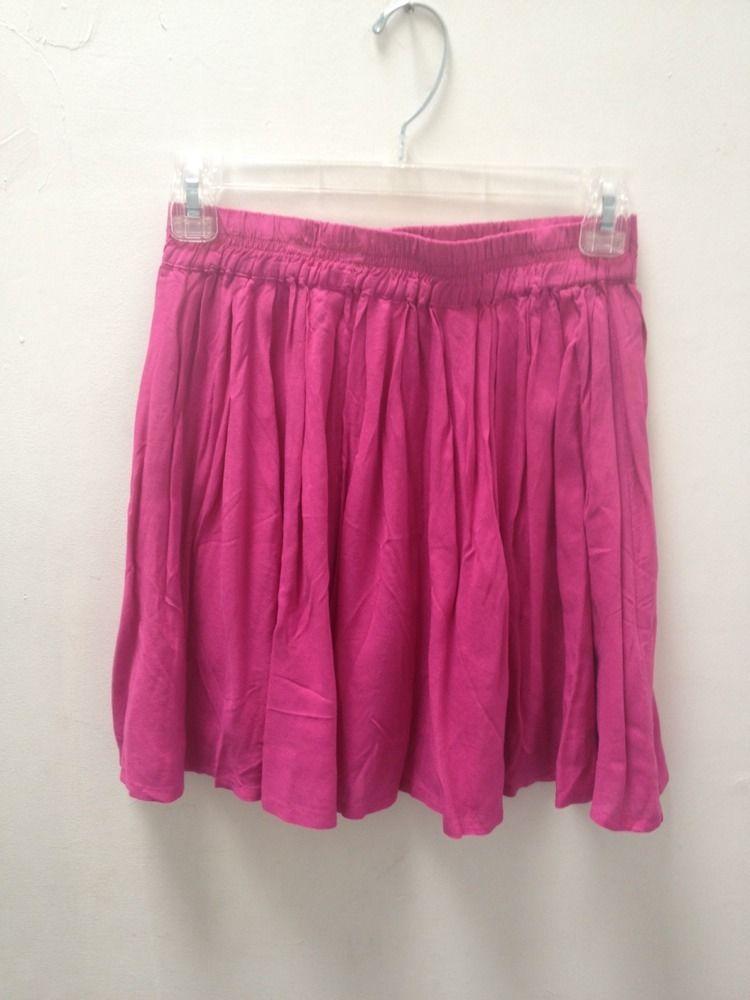 Aeropostale Bethany Mota Fuschia Skirt Size Medium | eBay