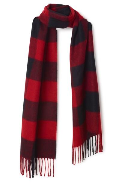 scarf flannel scarf plaid