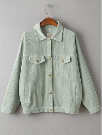 jacket denim jacket corduroy jacket corduroy fashion button up