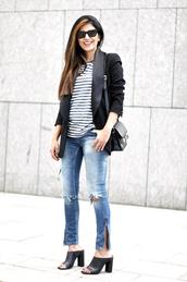 fashion landscape,sunglasses,jacket,t-shirt,jeans,bag,shoes