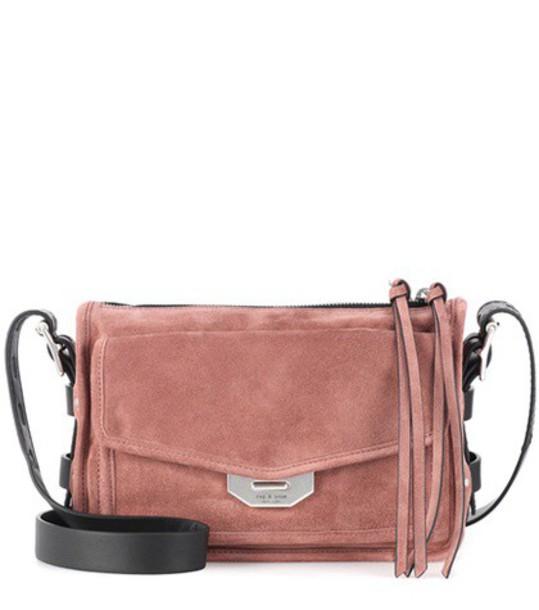 Rag & Bone bag crossbody bag suede pink