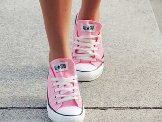 shoes rose pink pink shoes pastel sneakers converse pink converse