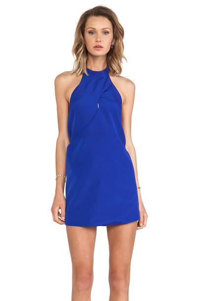 dress night dress blue