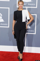 jumpsuit,beyonce,black and white,queenb,yonce