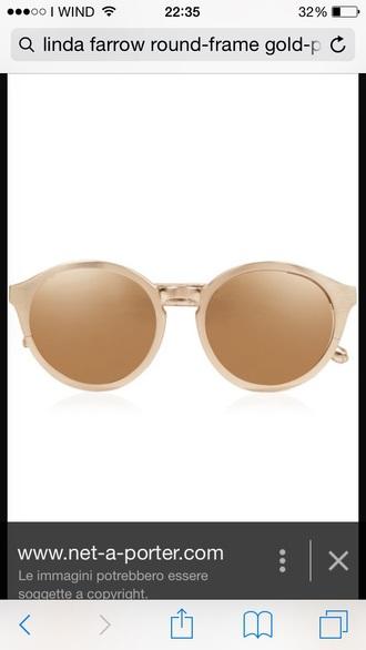 sunglasses glasses sun frames safari brown beige camel gold golden accessory accessories
