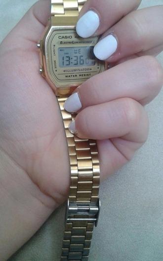 jewels gold watch casio watch