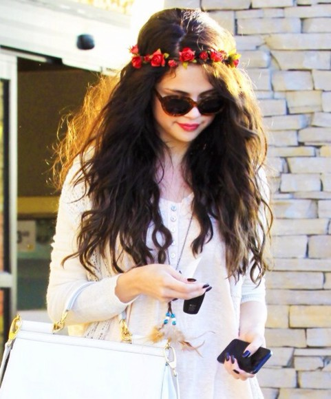 selena gomez selena gomez jewels flower crown floral crown ring, crown, queen, small