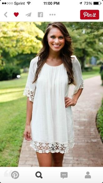 dress lace lace dress ivory dress