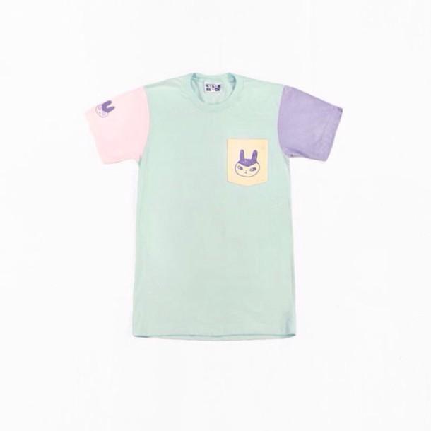 shirt pastel kawaii short sleeve t-shirt