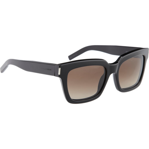 Saint laurent classic square frame sunglasses at barneys.com